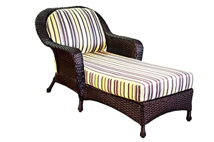 bf8dfdcf6e7 Image Unavailable. Image not available for. Color  Tortuga Outdoor Garden Patio  Lexington Chaise Lounge ...
