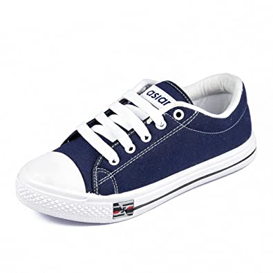 254accf37764a Asian shoes Paris 71 Navy Blue Womens Casual Sports Shoes: Buy ...