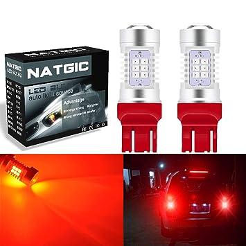 ngcat Auto bombilla LED 2pcs 7444 na 7440 7440 na 7441 992 T20 chipsets 2835 21 ...