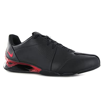 newest collection fe7c2 7ec02 ... authentic nike shox gt leather trainer size 7 uk black e1fc0 055b2