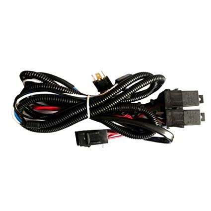 bharat motor hella headlamp wiring harness 100 130w max with relay rh amazon in hella wiring harness instructions hella horn wiring harness diy