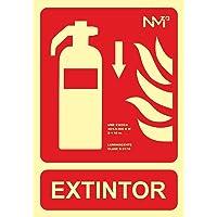 Normaluz RD00104 - Señal Luminiscente Extintor Abajo Clase