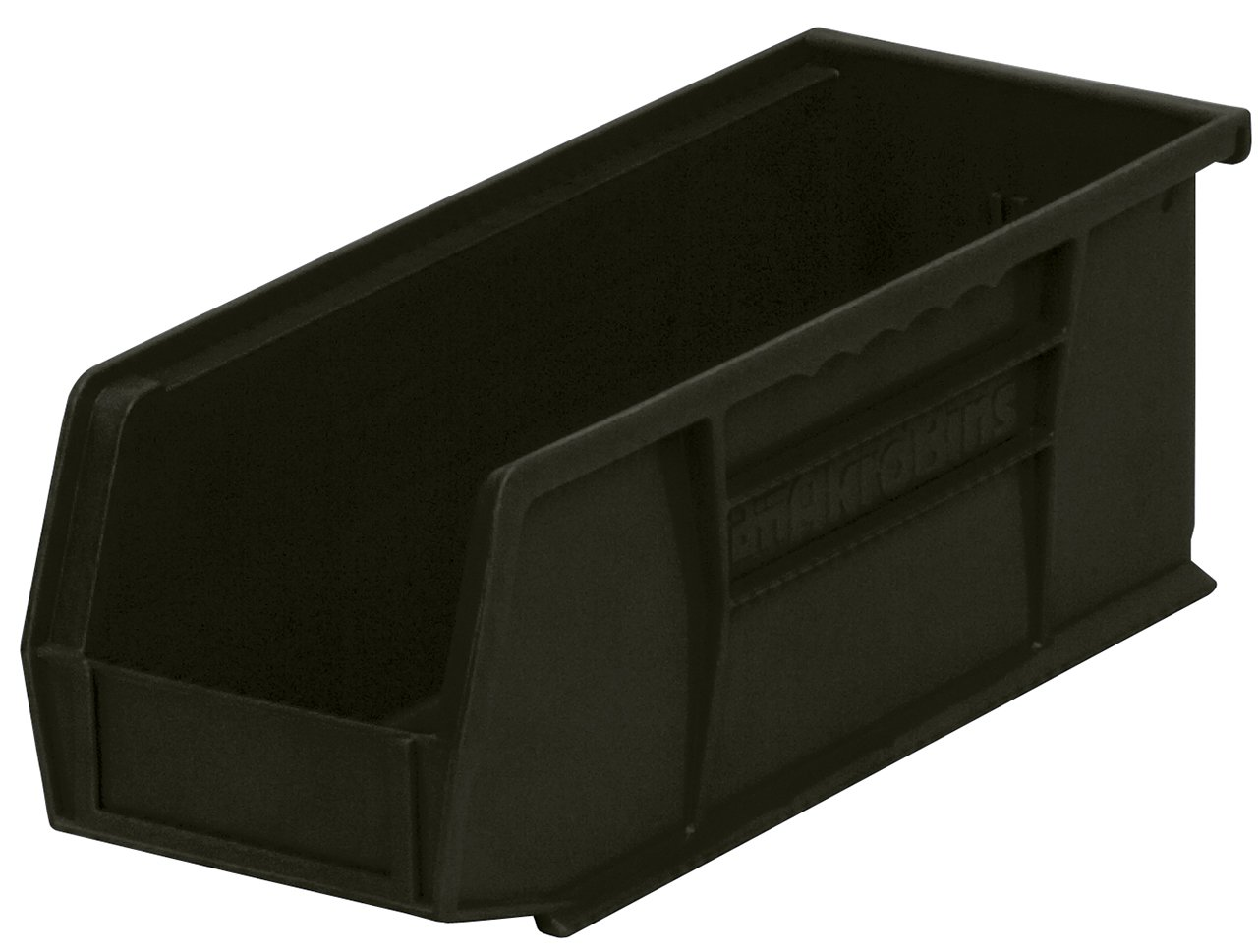 11-Inch by 5-Inch by 5-Inch 12-Pack Akro-Mils 30230 Plastic Storage Stacking Hanging Akro Bin Red
