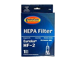 (1) Eureka HF2 Hepa Pleated Filter HF-2 Eureka Upright Ultra Smart, Boss, Omega, UltraSmart Vac Cyclonic, Whirlwind Vacuum cleaners, 61111, 61495, 61111A, 61111B, 61111C