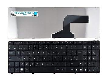TECLADO ASUS X54C-SX412V 0KN0-J71SP03 NSK-UM0SU 04GN0K1KSP00-3 TECLAS JUNTAS: Amazon.es: Electrónica