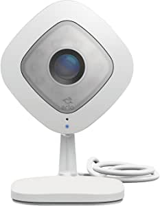 Arlo Q – Wired, 1080p HD Security Camera | Night vision, Indoor only, 2-Way Audio | Cloud Storage Included | Works with Alexa (VMC3040), White, Standalone Camera (VMC3040-100NAS)
