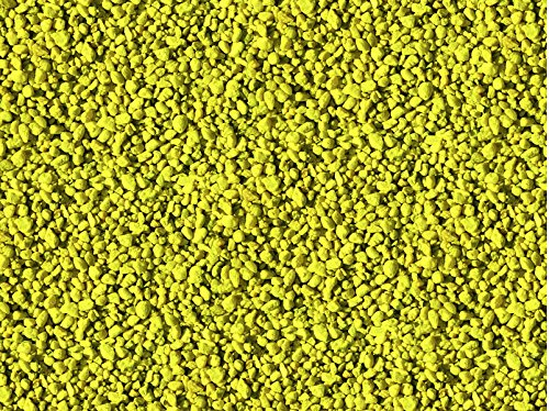 Pure Water Pebbles Aquarium Gravel, 25-Pound, Neon Yellow by Pure Water Pebbles