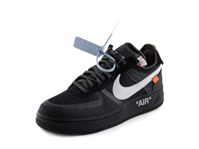 more photos 6624e 5762d Nike Air Force 1 Low x Off White - BlackWhite-Cone-Black Trainer  Amazon.de Schuhe  Handtaschen