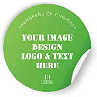 AWUSA Custom Stickers Personalized Labels - Customized Stickers with Any Desingn Image Logo Text,Custom Thank You Label…