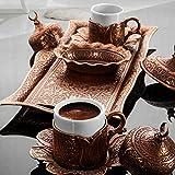 Ottoman-turkish-coffee-serving-set-espresso-latte-gaiwan-saucer-copper-colour