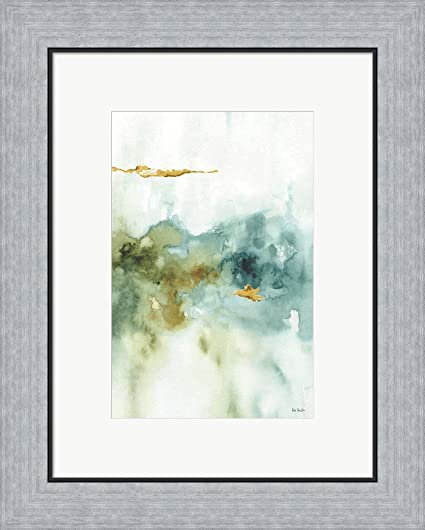 Amazon.com: My Greenhouse Abstract II by Lisa Audit Framed Art Print ...