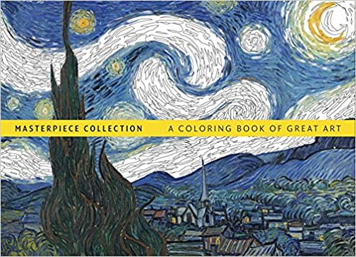 Amazon Masterpiece Collection A Coloring Book Of Great Art 9780600634461 Hamlyn Books