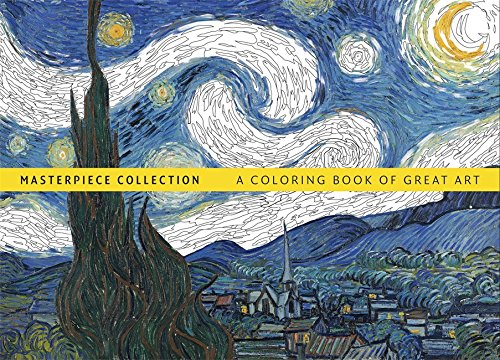 Masterpiece Collection: A Coloring Book of Great Art - Hamlyn Collection