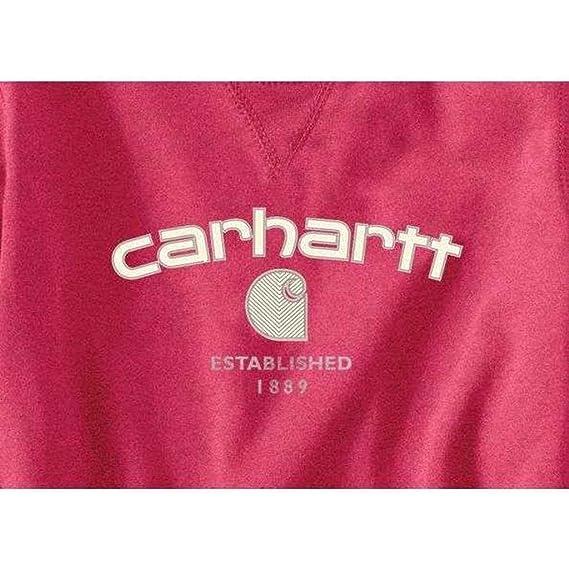 Amazon.com: Carhartt Women s Burket Graphic sudadera: Clothing