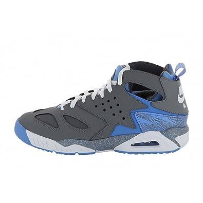 Nike Air Tech Challenge Huarache 630957 001 Grey White University Blue Men's  Size 12