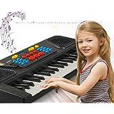 Tiowea Bambini Portatile 37 Tasti Multifunzione Elettrico Pianoforte Pedagogico Giocattolo Girello Scarpe