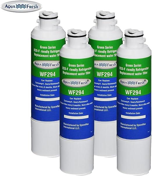 Aqua Fresh Water Filter Fits Samsung Water Sentinel WSS-2 Refrigerators 2 Pack