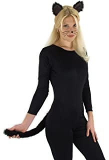 Black Cat Ears And Tail Kit By Elope