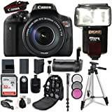 Canon EOS Rebel T6i Wi-Fi Digital SLR Camera & EF-S 18-135mm IS STM Lens with 32GB Card + Accessory Bundle