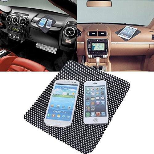UNAKIM--Car Non-slip Dash Mat board Phone Coin Sunglass Pad Holder PU Leather PW - Cheap Sunglasses Shopping Online India