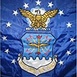 Cheap United States Air Force Double Sided Nylon Embroidered 3 x 5 Foot Flag