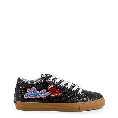 42997dac581dc Amazon.com: Love Moschino Women's Sneakers(36,Black): Shoes