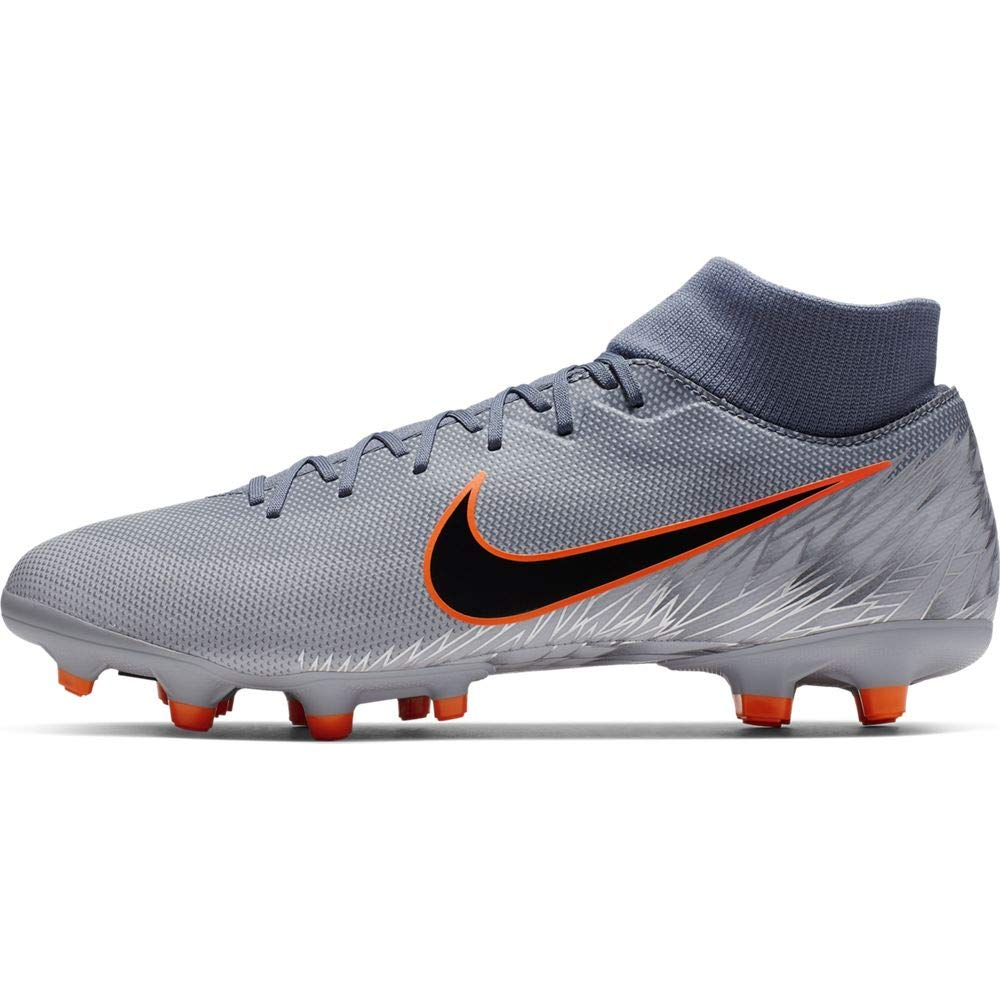 Nike Men's Mercurial Superfly 6 Academy MG Soccer Cleat Armory Blue/Black/Wolf Grey Size 9.5 M US by Nike