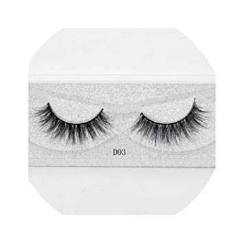 a57e766a9ef Amazon.com : Lash Mink Eyelashes 3D Mink Hair Lashes Wholesale 100% Real  Mink Fur Lashes Thick 11 Styles New, D.3 : Beauty