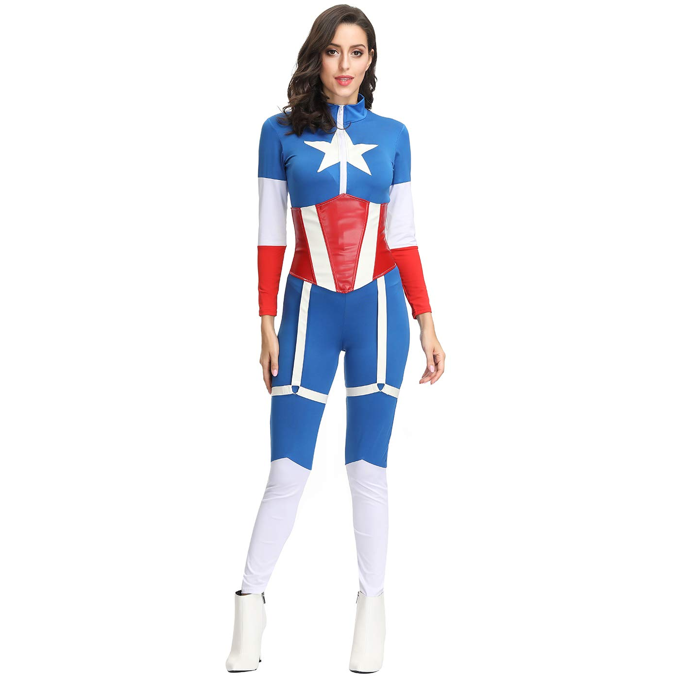 Disfraz de Halloween para mujer Traje sexy de Capitán ...