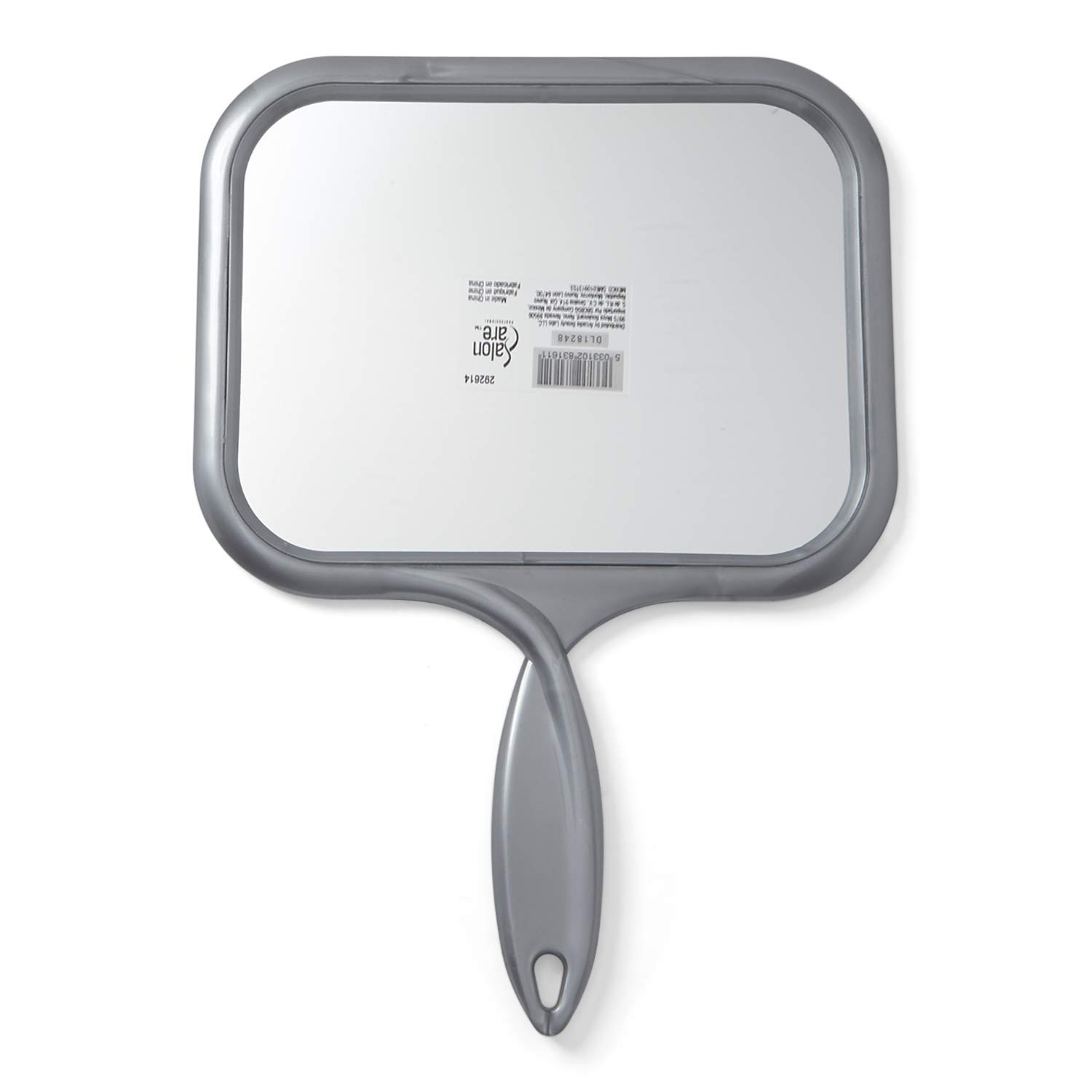 Salon Care Large Rectangular Hand Held Mirror
