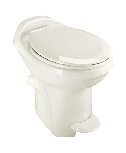 Amazon.com: Aqua-Magic Style Plus RV Toilet / High Profile / Bone ...