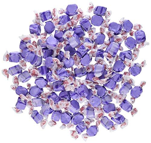 Grape Purple Gourmet Salt Water Taffy 1 Pound (Purple Salt)