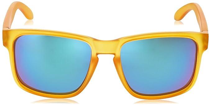 Ocean Sunglasses Blue Moon - lunettes de soleil - Monture : Jaune Acide - Verres : Revo Vert (19202.48) ys3xtlL