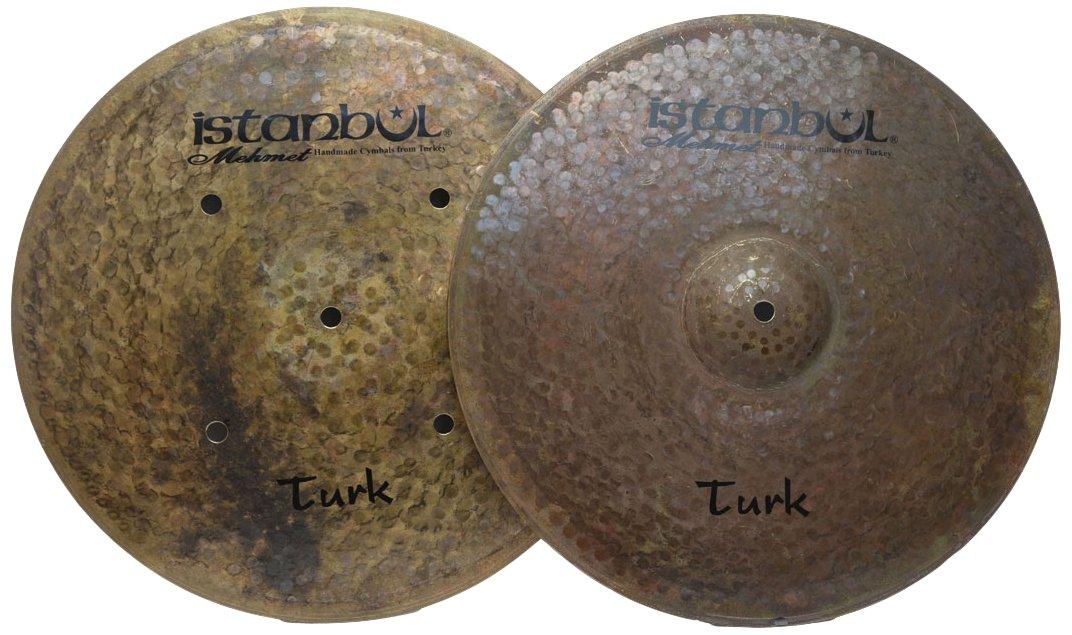 Istanbul Mehmet Cymbals Custom Series Turk Hi-Hat Flat Hole Bottom Cymbals HHTH (15