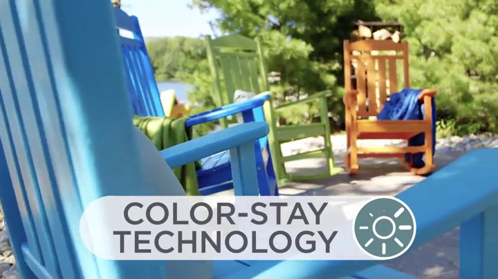 POLYWOOD R100WH Presidential Rocking Chair, White - This comfortable rocking chair, with its contoured seat, wide arms and slats that are easy on the back, will complete your porch or outdoor patio Does not splinter, crack, chip, peel or rot and is resistant to corrosive substances such as oil, salt spray and other environmental stresses No painting, staining, waterproofing, or similar maintenance required - patio-furniture, patio-chairs, patio - 61i7B7pyoHL -