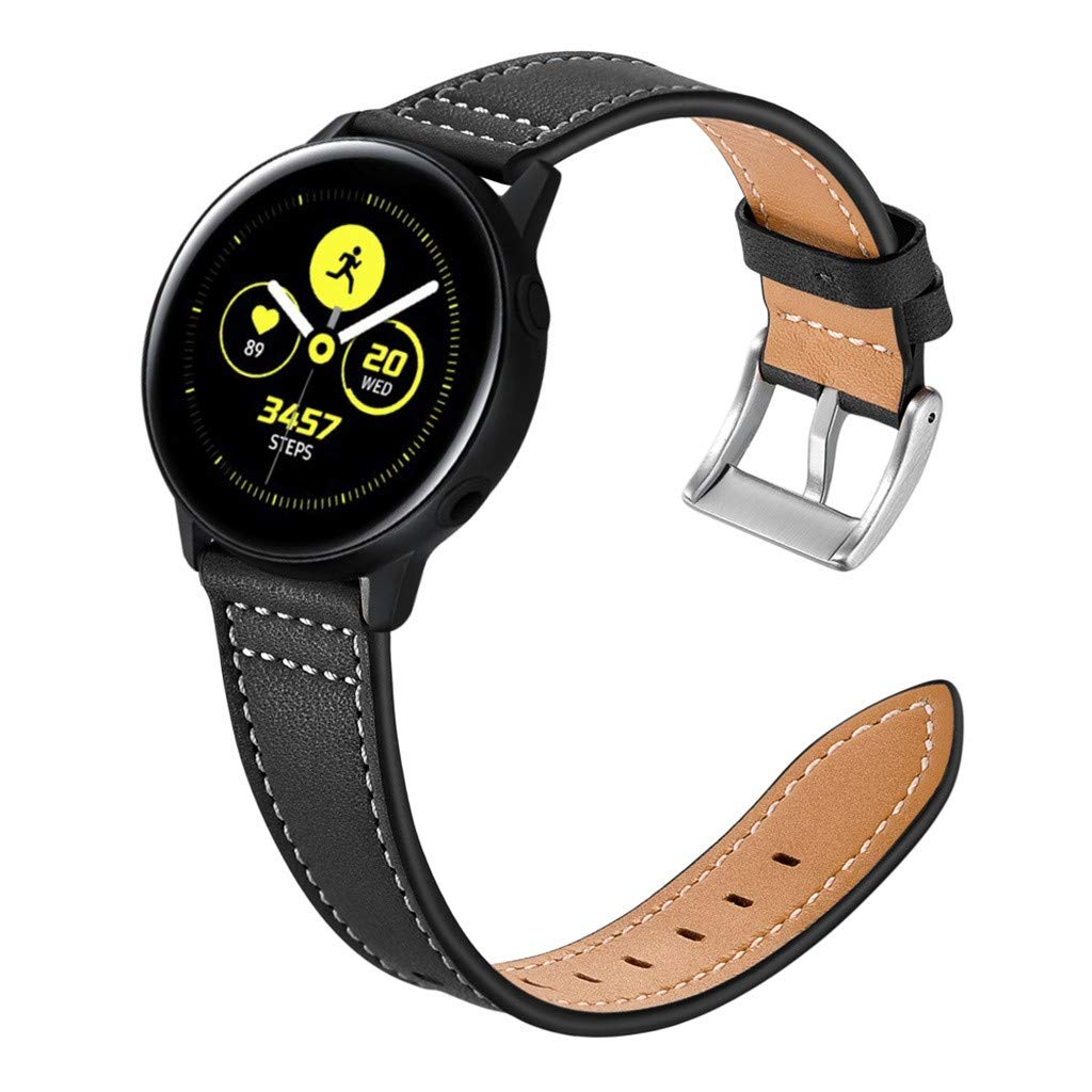 Amazon.com: Sodoop Leather Band Compatible for Samsung Watch ...