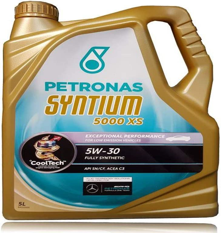 Petronas 18145015 Aceite para Motor SYNTIUM 5000XS 5W30 5 litros ...