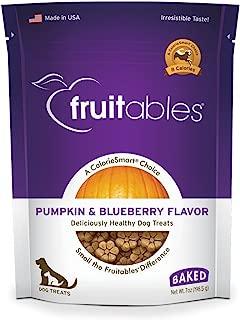 product image for Fruitables Pumpkin & Blueberry Mix Dog Treats (8x7 Oz)