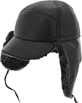 0bec17f308e Winter Russian Hat Wool Baseball Cap Warm Ear Flap Hat Fitted Hunt Military  Hats Adjustable Warm Army Cap For Men. QINGYU Winter Russian Hat ...