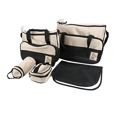 Set 5 kits, Bolsa de Mama Para Bebe Biberon Bolso/Bolsa ...
