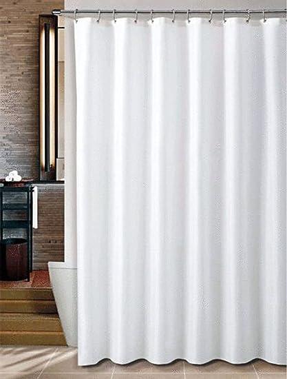 natoo tela cortina de ducha extra larga con anillo ganchos cocina   hogar  cuarto de baño 1d289d86959f