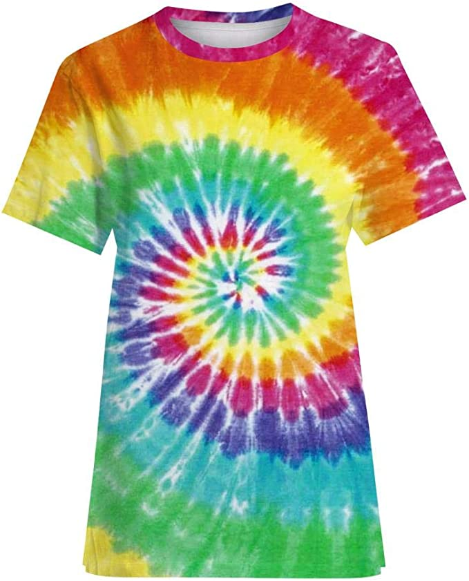Verano Nueva Camiseta de impresión Colorida Camisa de los ...