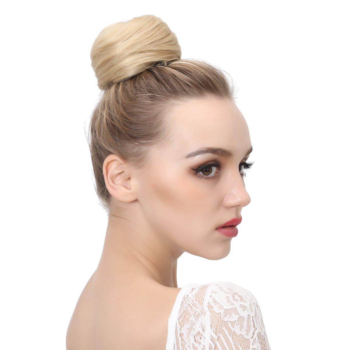 Amazon Onedor Synthetic Hair Bun Extension Donut Chignon