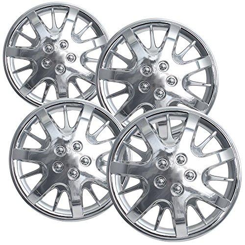 16 chrome hubcaps impala - 9