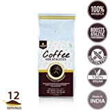 Unived Sports Coffee For Athletes, 100% Premium Arabica Coffee With Isomaltulose, Dark Roast Finely Ground, 250G