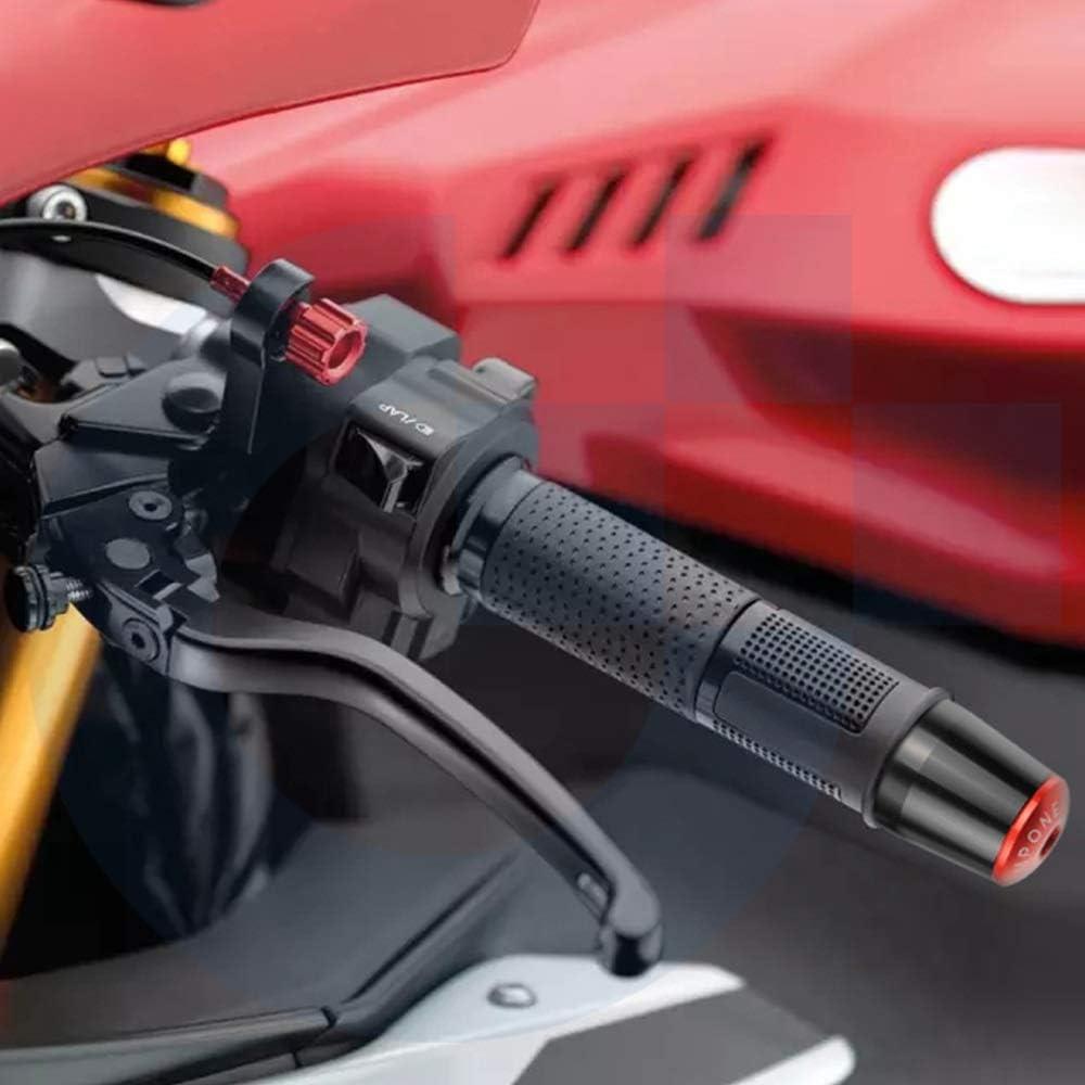 Motorcycle Handlebar Grip Ends Weights Anti Vibration Silder Plug for Aprilia RSV MILLE R 1999-2003 2002 2001 2004 2005 2006 Anhui-DSB Color : Black black