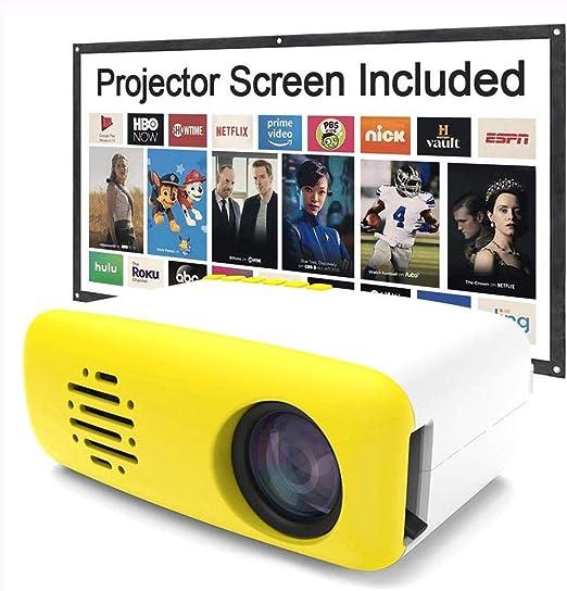 Ai LIFE Mini Video LED Proyector Portátil Cine en casa ...