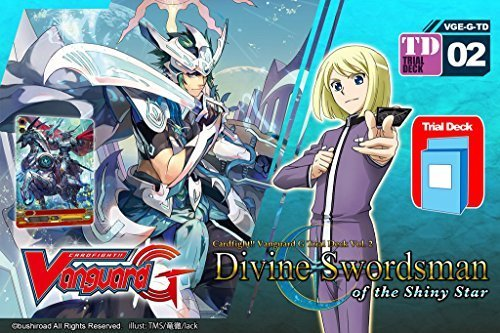 Tcg Starter (Divine Swordsman of the Shiny Star - Cardfight Vanguard G Gear Chronicle TCG English VGE-G-TD02 Starter Trial Deck - 50)