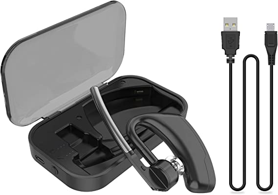 Amazon Com Power Charging Case For Plantronics Bluetooth Headset Voyager Legend 2 In 1 Portable Charger Case With Led Status Black