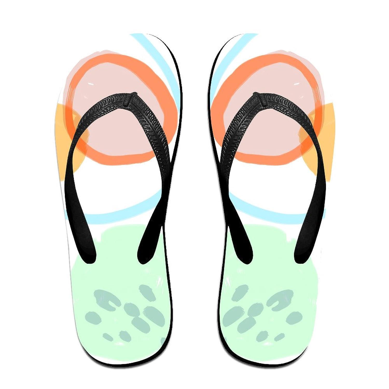 Unisex Non-slip Flip Flops Draw Elephant Cool Beach Slippers Sandal